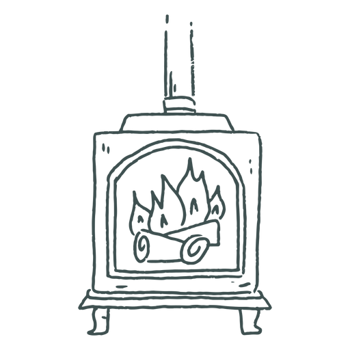 Wood stove stroke