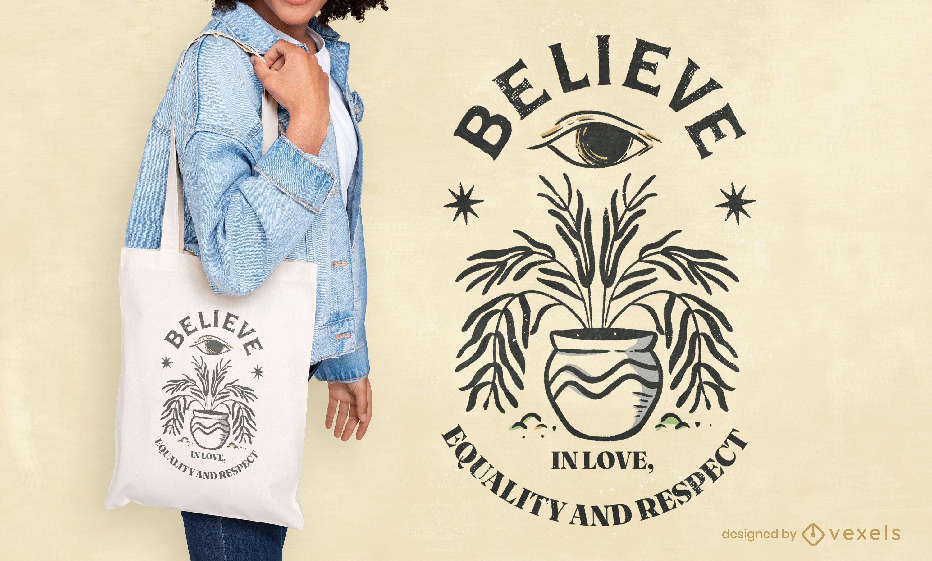 International peace day quote tote bag