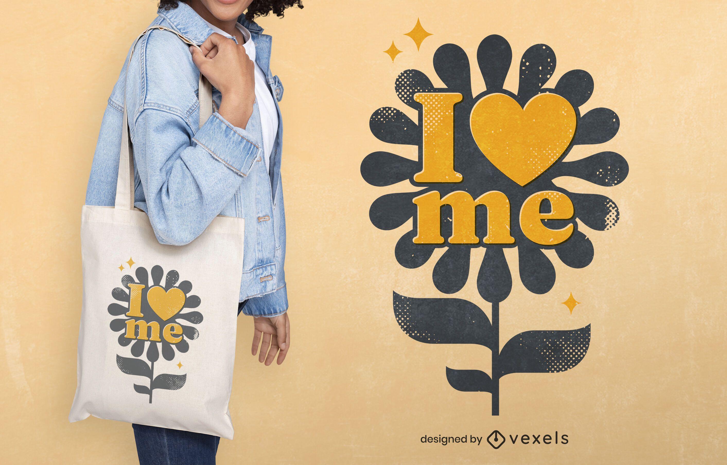Friedenstag Liebe Blume Einkaufstasche Design