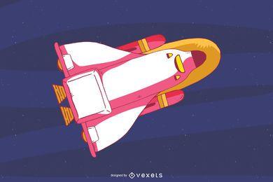Clip-art do ônibus espacial