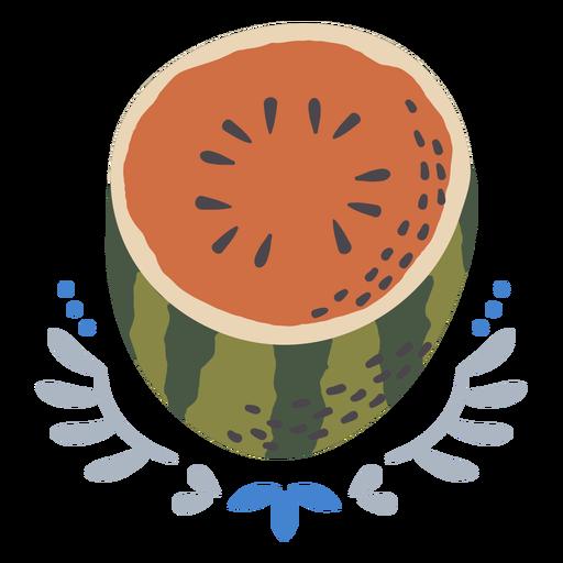 Watermelon design flat