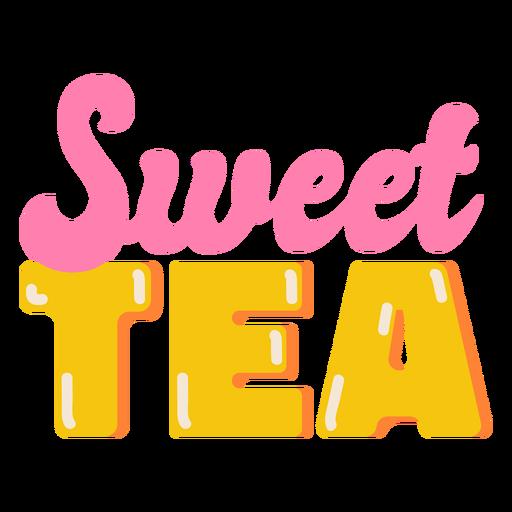 Sweet tea glossy