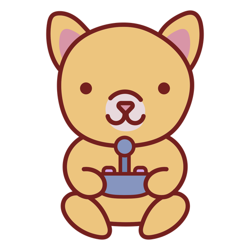 Baby cat cute animal gamer