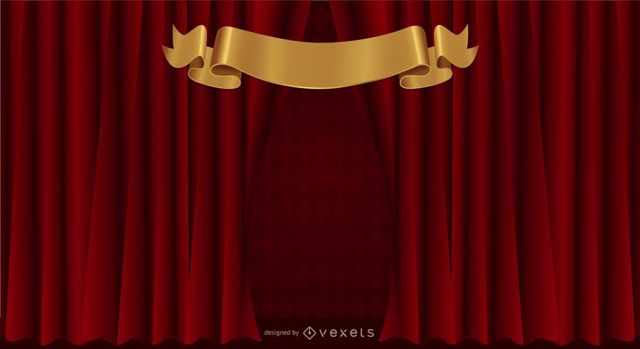 Curtain, curtain, pattern background vector