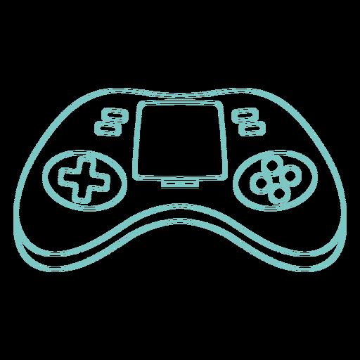Retro joystick with screen stroke