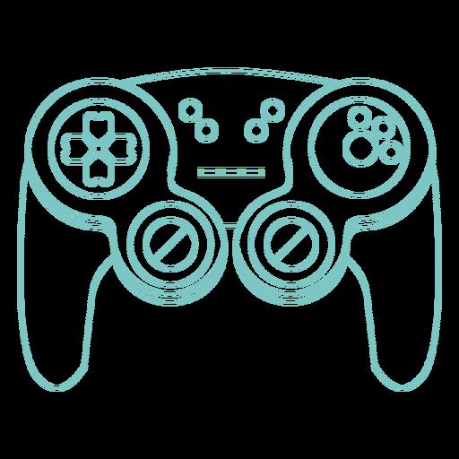 Gaming joystick simple stroke