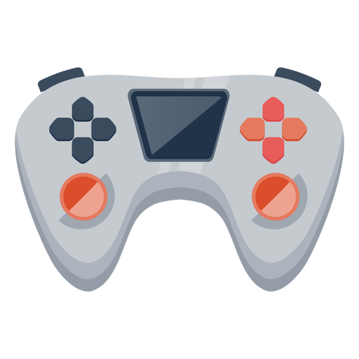 Semi flat joystick with screen