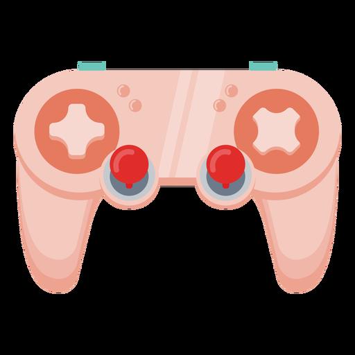 Simple gaming joystick semi flat