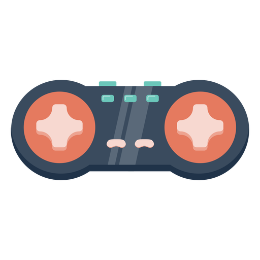 Retro style joystick semi flat