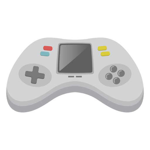 Simple joystick with screen semi flat