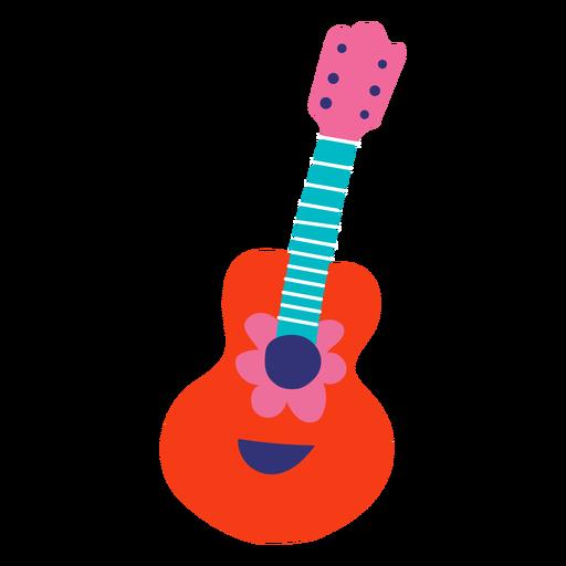 Flower guitar flat