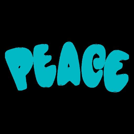 Peace flat