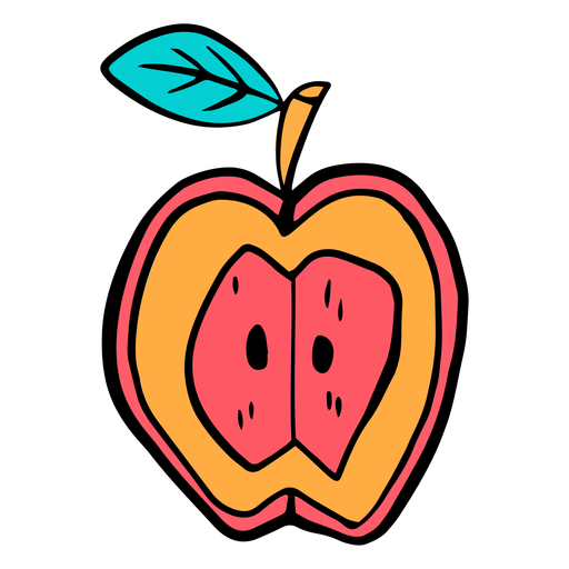 School supplies alphabet O color stroke