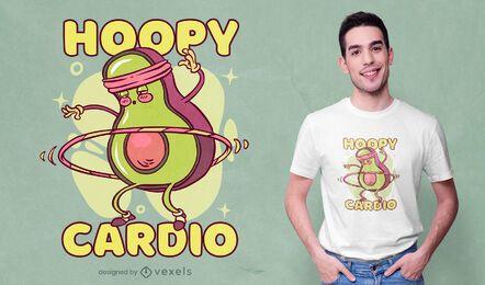 Avocado Sport Charakter T-Shirt Design