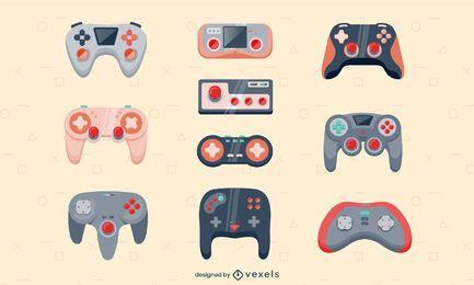 Gaming consoles joystick technology set