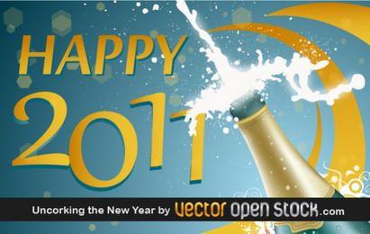 Descorchar el año nuevo