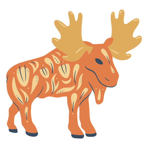 Moose organic abstract