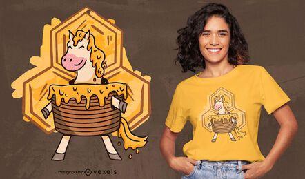 Honey cake horse t-shirt design