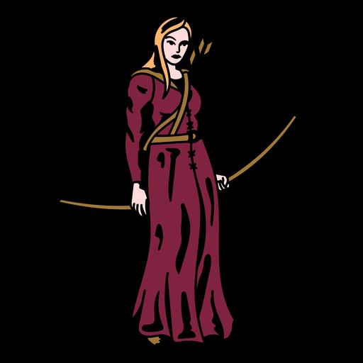 Princess archer bow and arrow