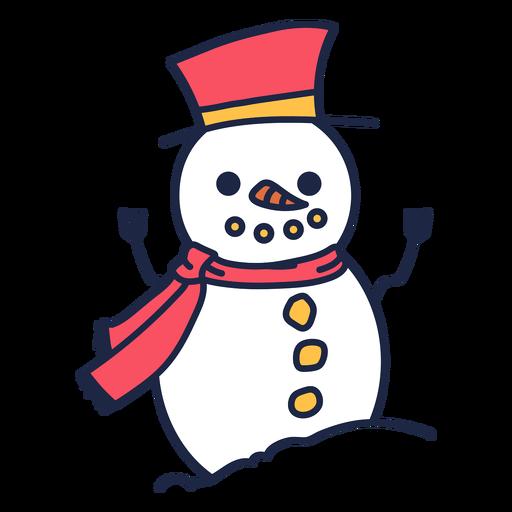 Winter snowman clothes