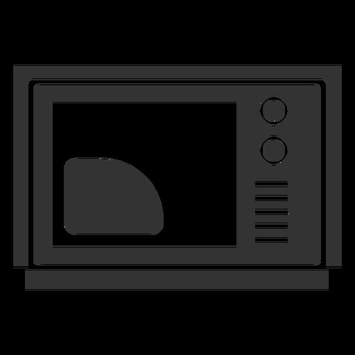 Vintage tv filled stroke