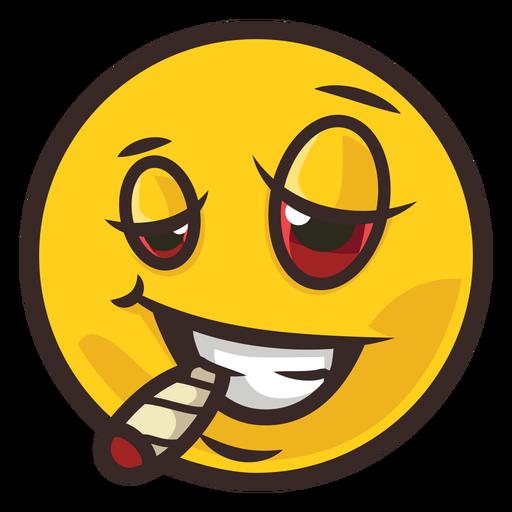 Smoking emoji color stroke