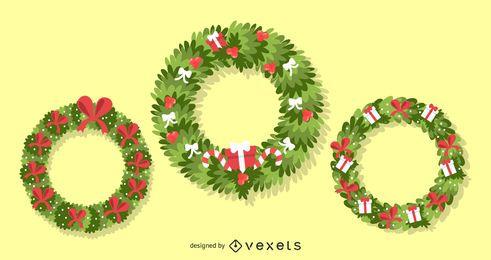 Coronas De Navidad 3