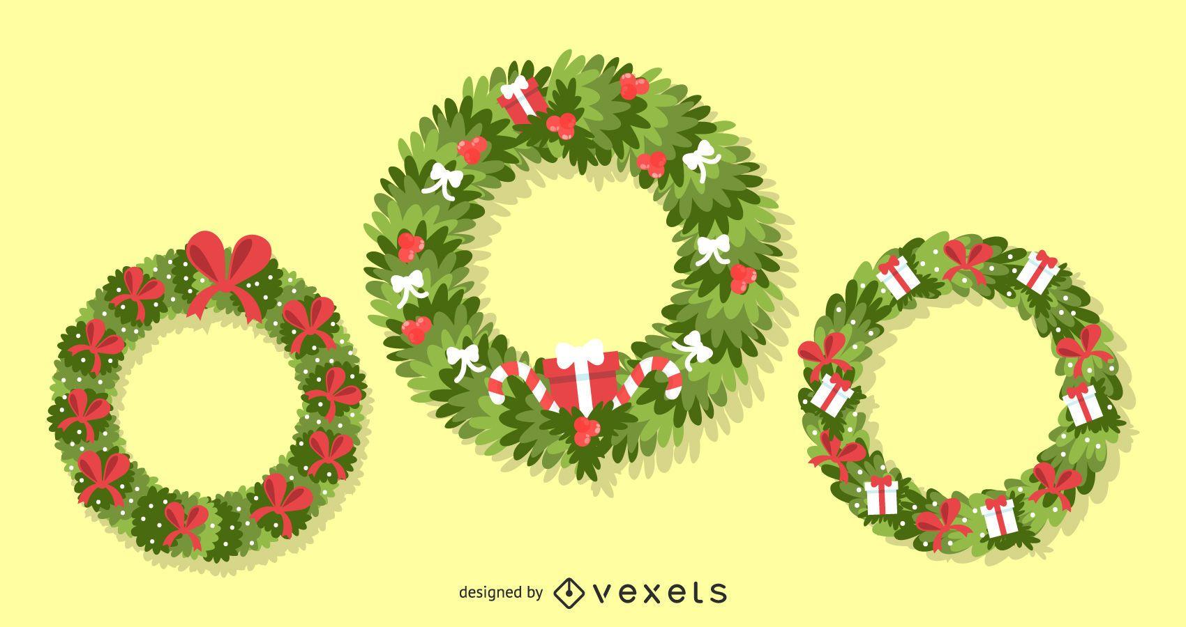 Christmas Wreaths 3