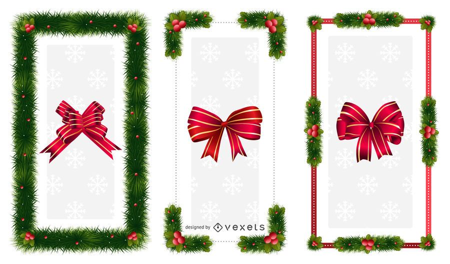 Christmas ornaments Frames