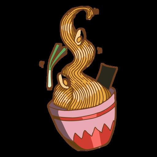 Tasty asian food noodles