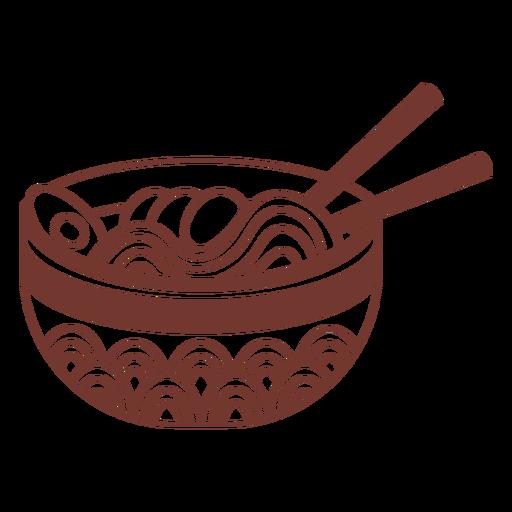 Ramen japanese food dish