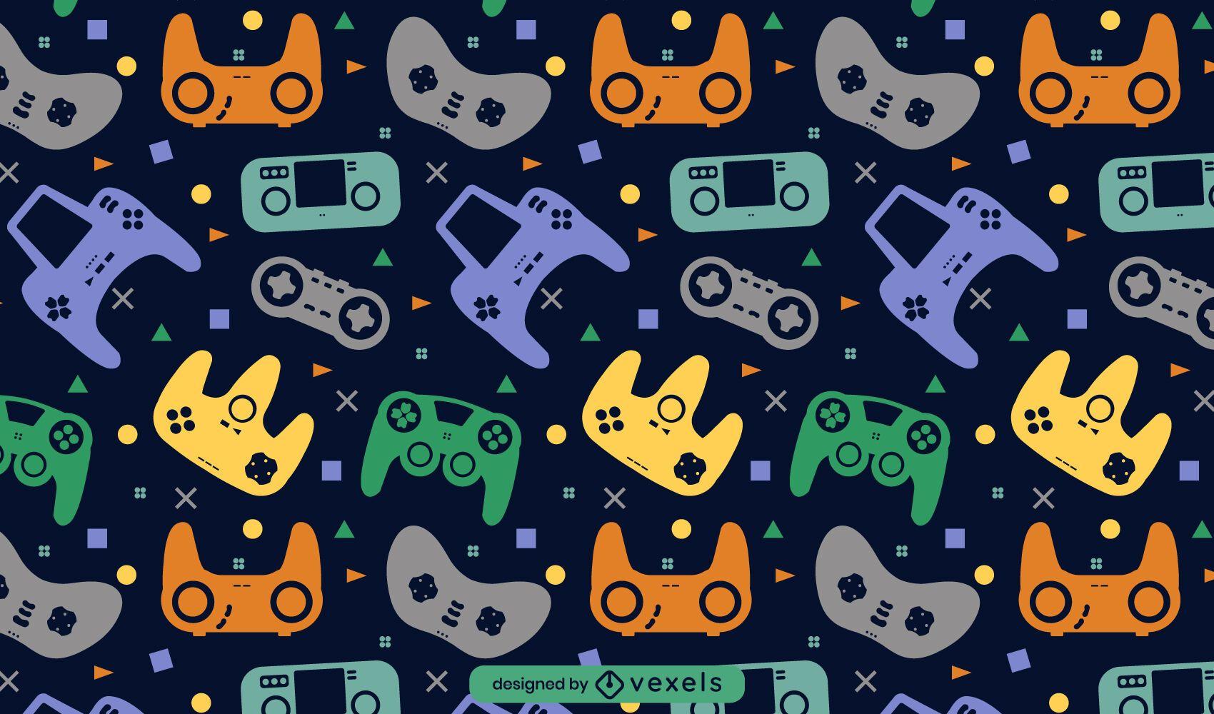 Joystick video game pattern design