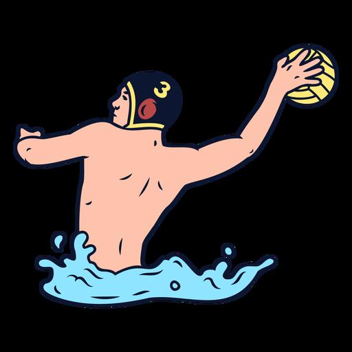 Jugadores de waterpolo - 1 1
