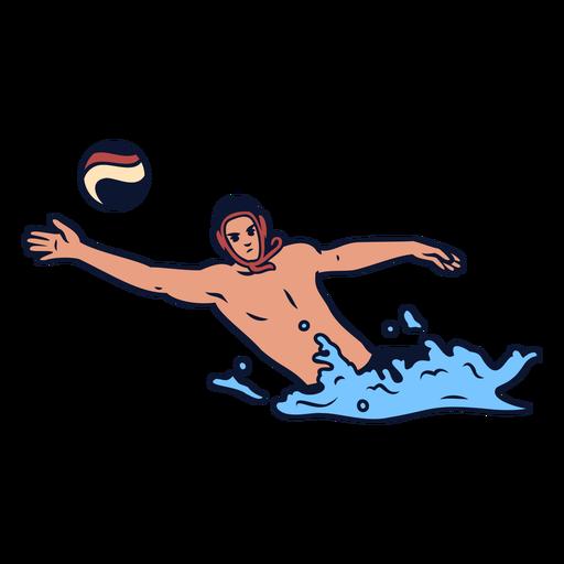 Jugadores de waterpolo - 2 1