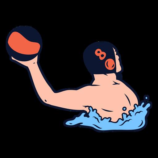 Jugadores de waterpolo - 3 1