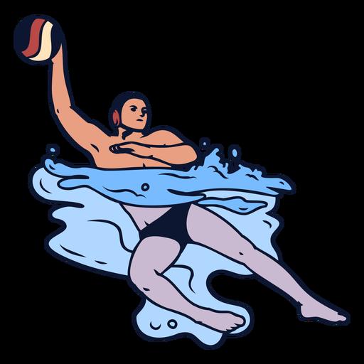 Jogadores de pólo aquático - 9 1