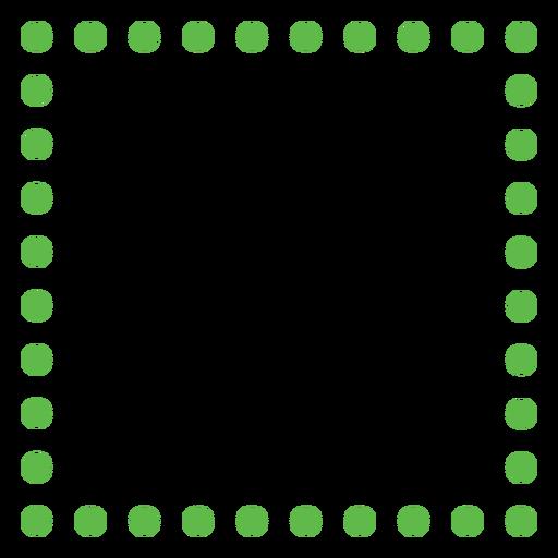 Rectangle dots flat
