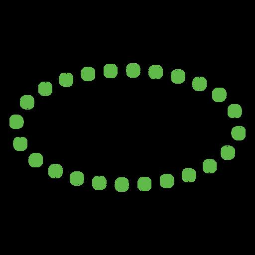 Oval shape flat