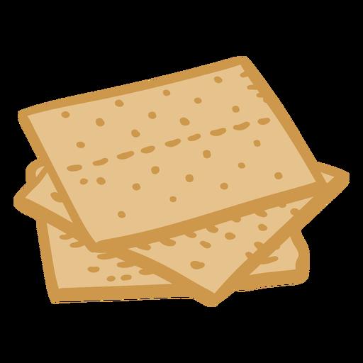 Crackers color stroke