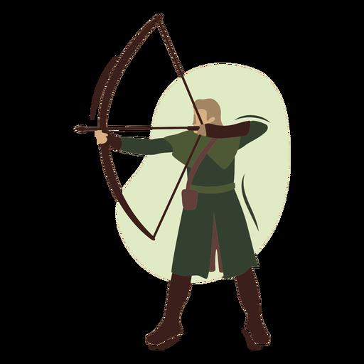Long haired archer semi flat