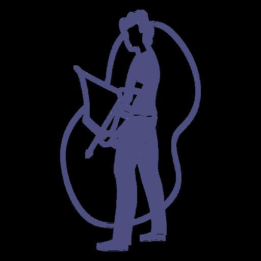 Bogenschie?en-Charaktere-FlatWashBrushedShapes - 15 1