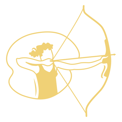 Archer filled stroke