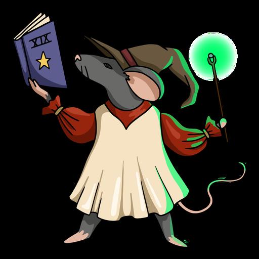 Wizard rat color stroke