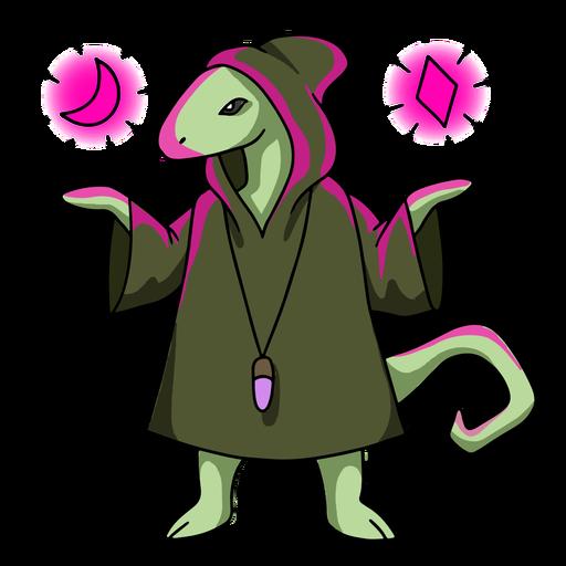 Wizard lizard color stroke