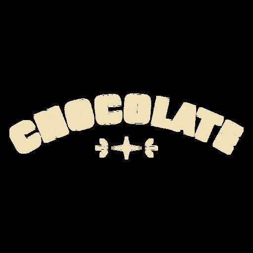 Chocolate glossy