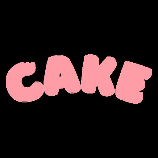 Cake glossy