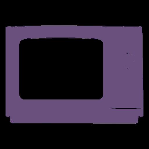 Retro TV cut out