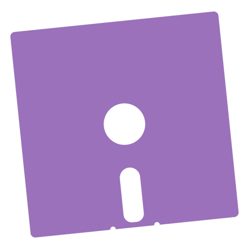 Diskette cut out