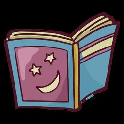 Magic book color stroke