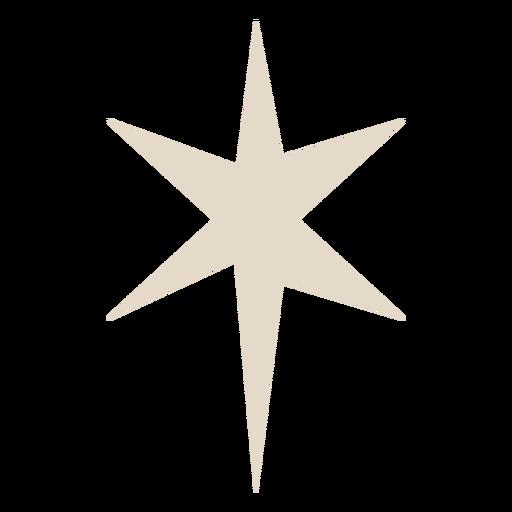 Star sparkle flat